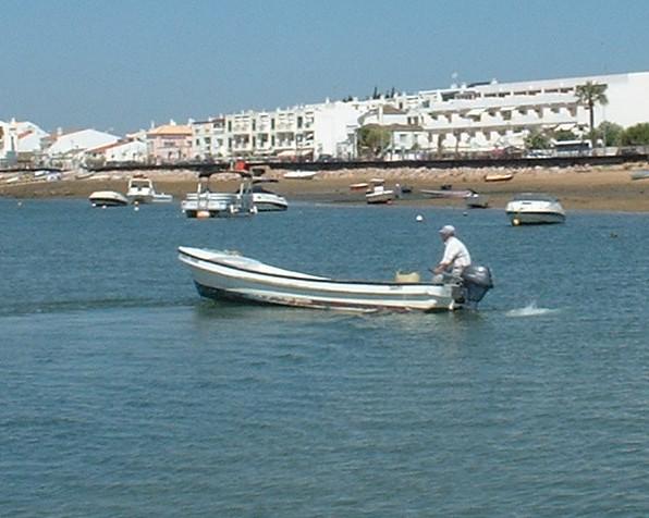 A Cabanas water taxi