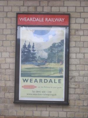 Weardale poster