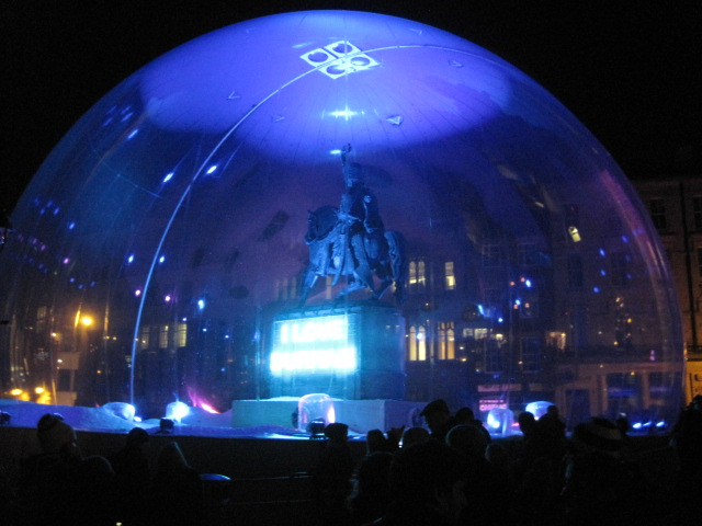 The snow dome