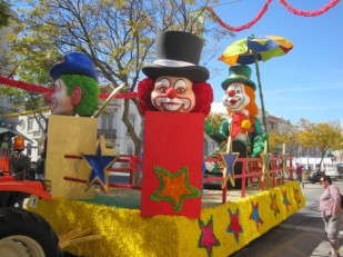 More craziness- Carnival time in Loule