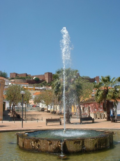 My first visit to Silves in April 2007- Michael's photo