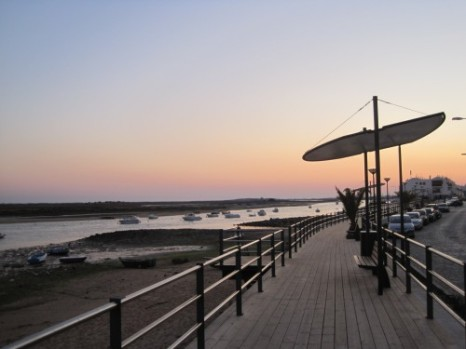 The boardwalk at Cabanas