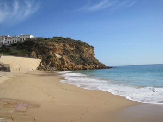 The beach at Burgau