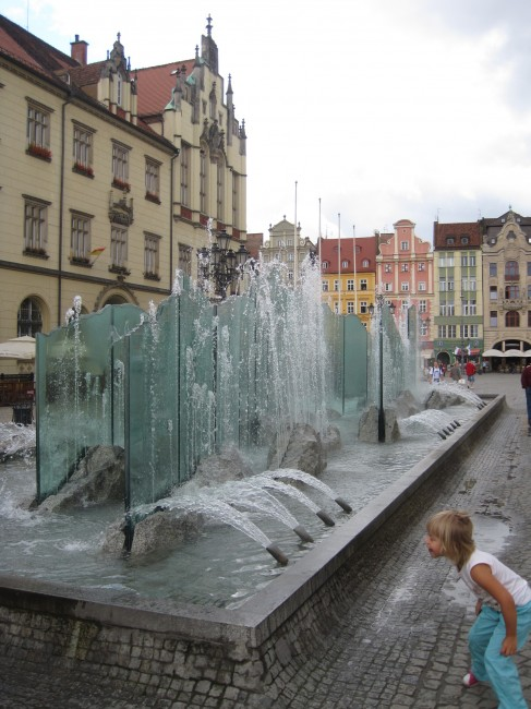 Remember the fountains in the Rynek in Wroclaw?