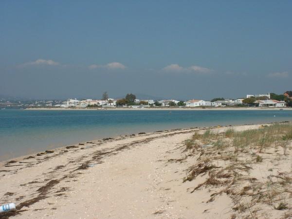 Looking across Armona to the mainland