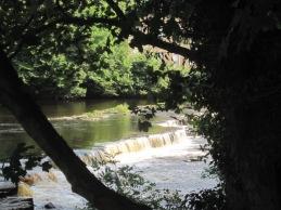 Framing the River Tees at Barnard Castle