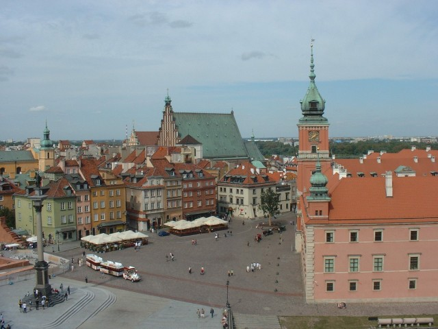 Golden moments in Warsaw's Stare Miasto