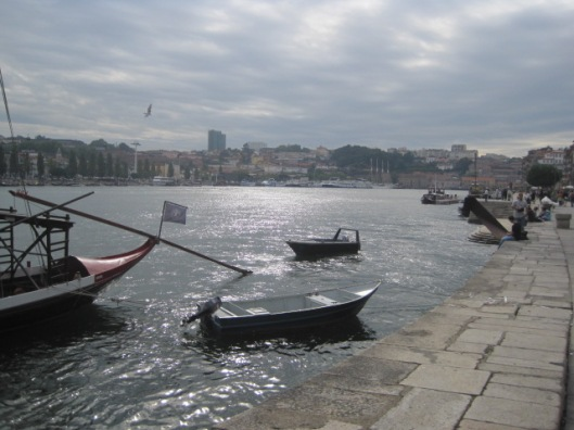 And sparkling in the Douro at Porto