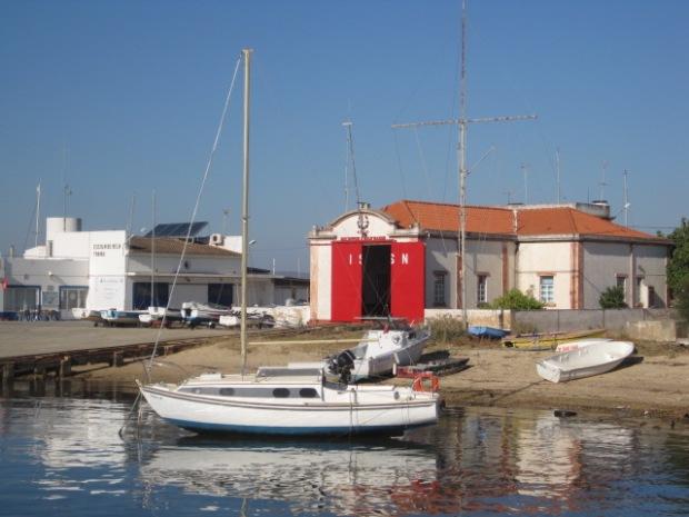 The quayside at Quatro Aguas