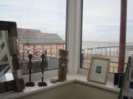 Frames in Pier Arts and Crafts and Saltburn Pier