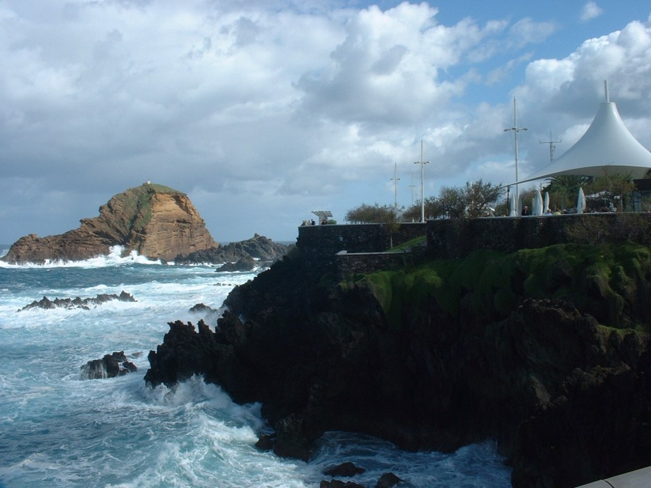 Porto Moniz on Madeira's north coast