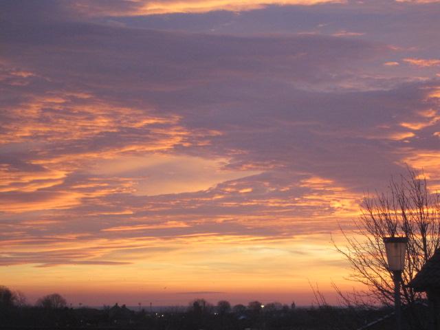 A Hartlepool sunrise