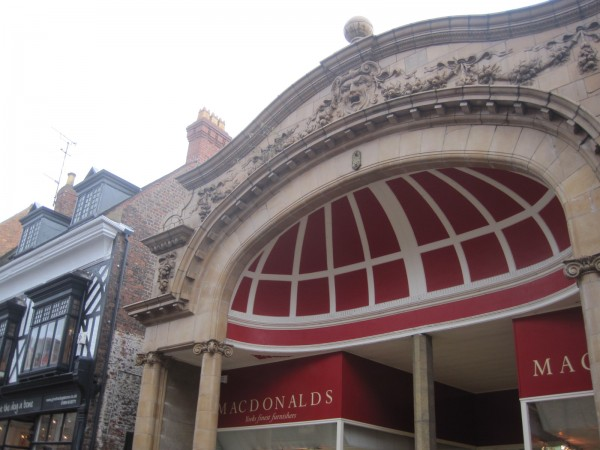 A former cinema