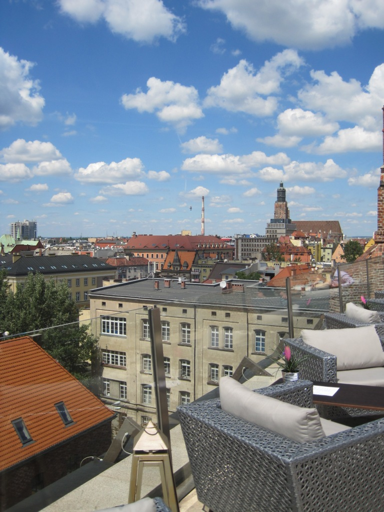 Rooftop view from the Hotel Monopol