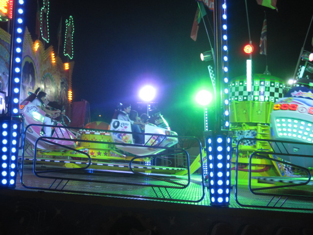 Or take a wild ride at the funfair