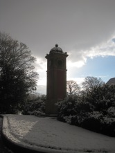 The melancholy clock tower