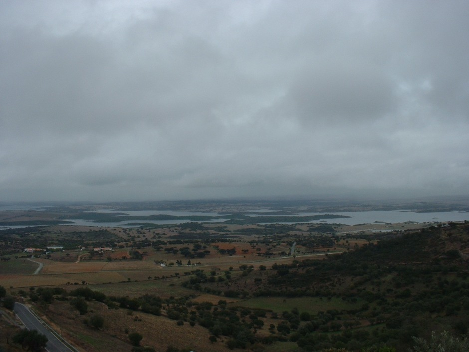 From lofty Monsaraz over the River Guadiana