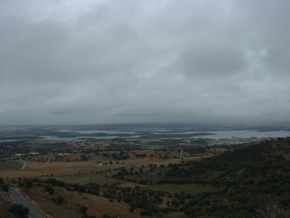 From lofty Monsaraz over the River Guadiana