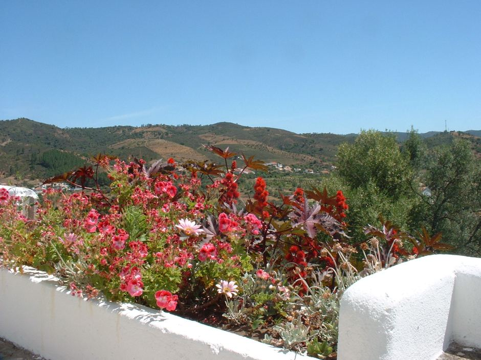 View from the village of Salir, in the Algarve