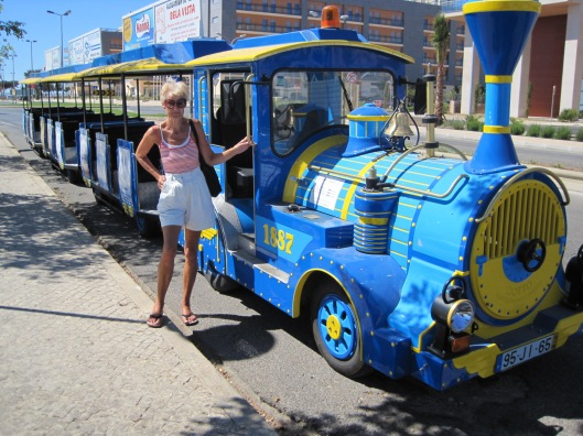 The tourist train- all aboard!