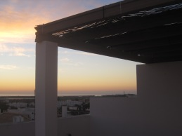 Where I like to end my days- my Tavira roof top