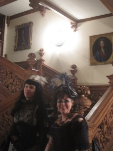 The fabulous Jacobean staircase