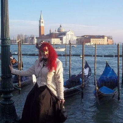 Lisa in Venice