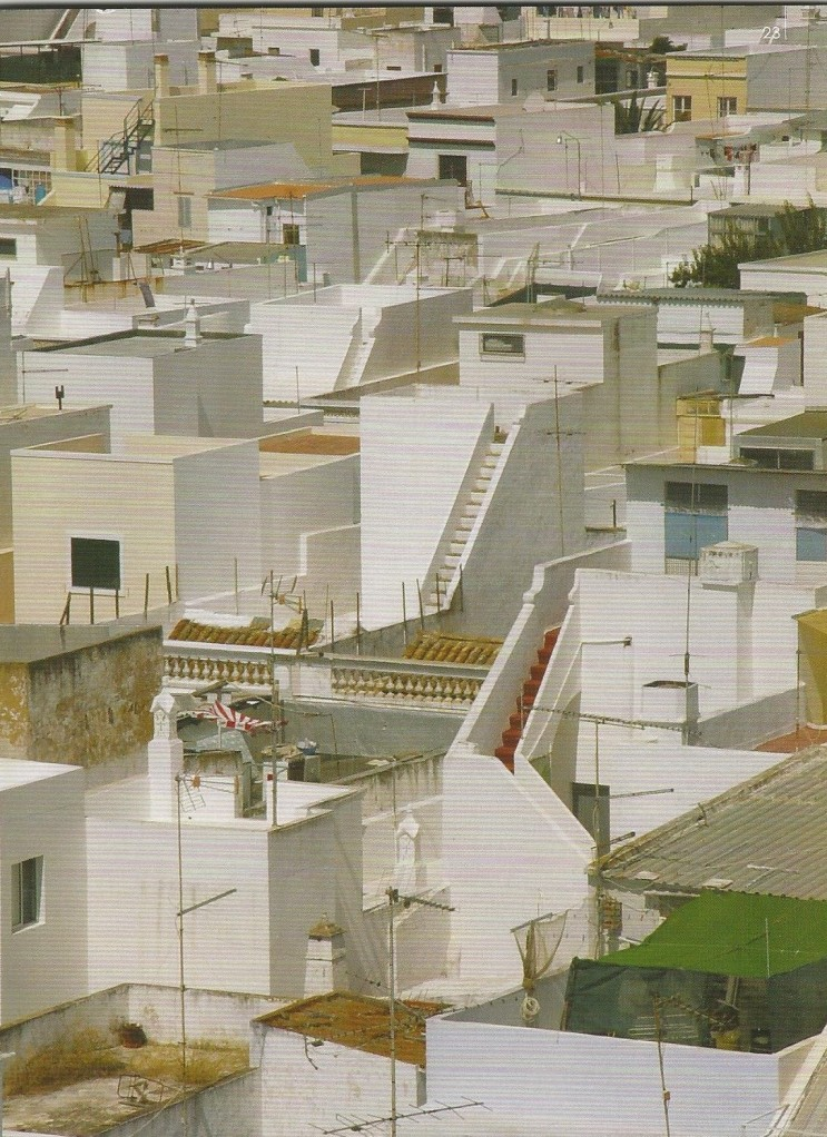 Roof tops of the cubist houses