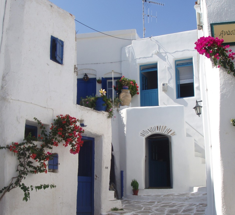 Street in Lefkes village
