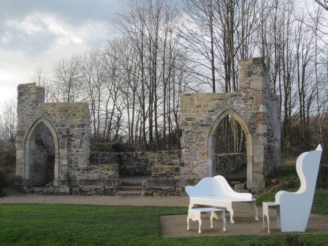 A folly in Sedgefield Country Park