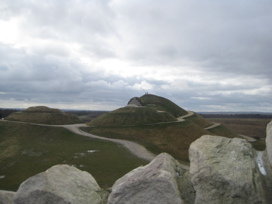 Northumberlandia from the summit