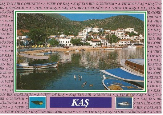 Kas, also in Turkey