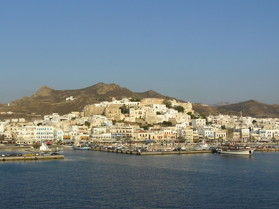 The port of Naxos- courtesy of Wikipedia