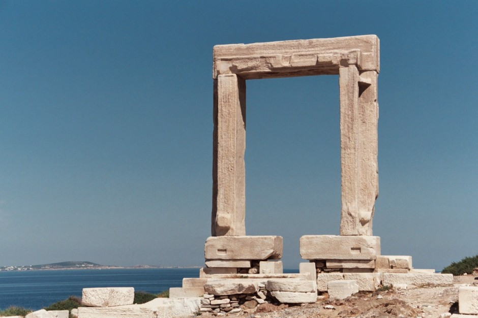 The entrance to Apollo's Temple- courtesy of Wikipedia