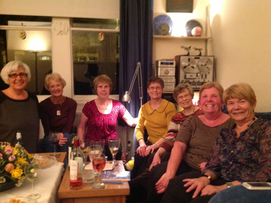 Joyce, me, Janice, Mary, Mamie, Kath and Joan