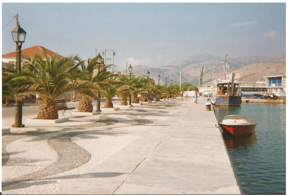 The quay at Argostoli
