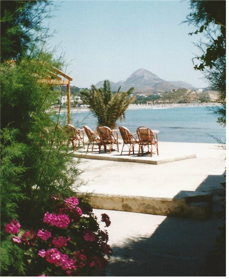 Plakias looks across a lovely bay
