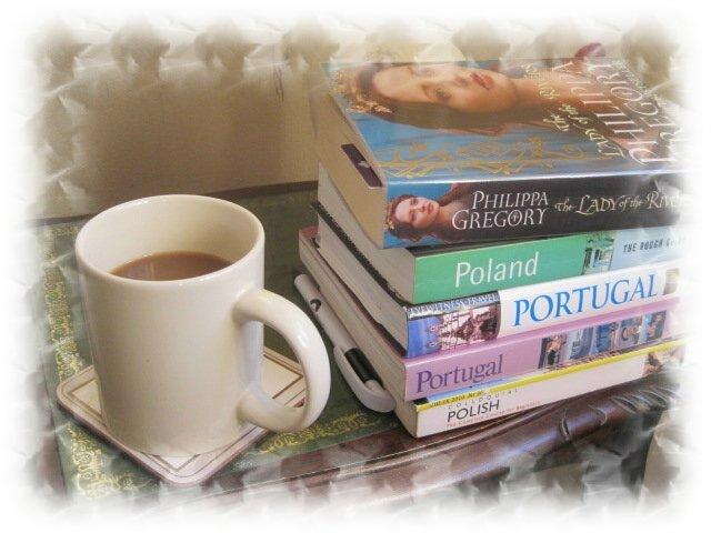 Coffee and non edible books