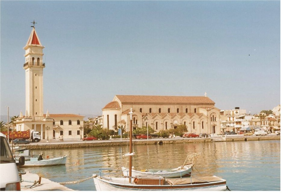 The harbour at Zante town- pale and interesting?