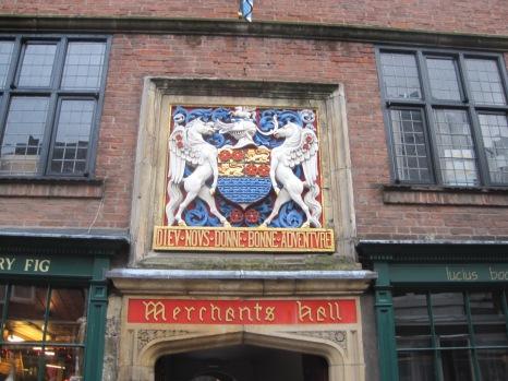 Heraldic entrance