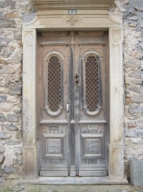 A well worn entrance in Tavira