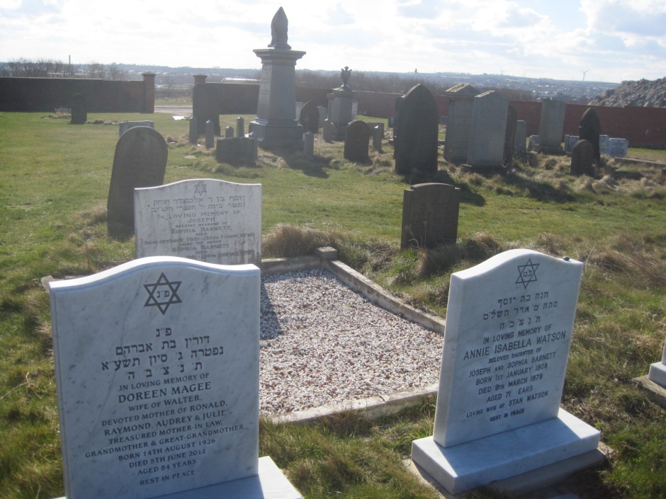 Jewish headstones and a wealth of local history