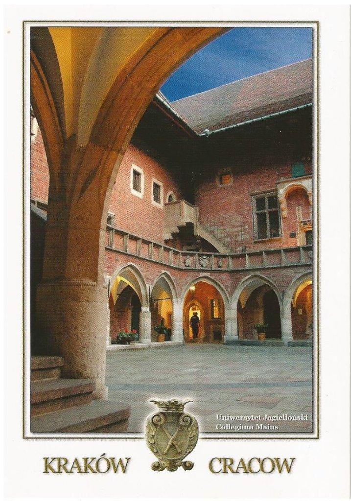 Courtyard of the Jagellonian University