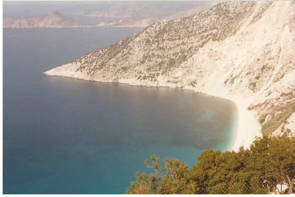 Kephalonia's stunningly beautiful scenery