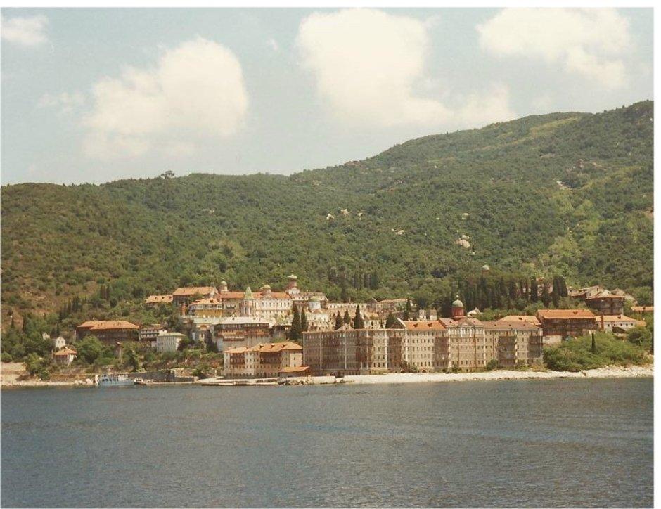 Ag. Panteleimonos monastery, Mount Athos