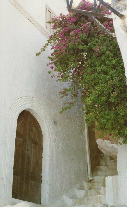 A charming corner of Lindos