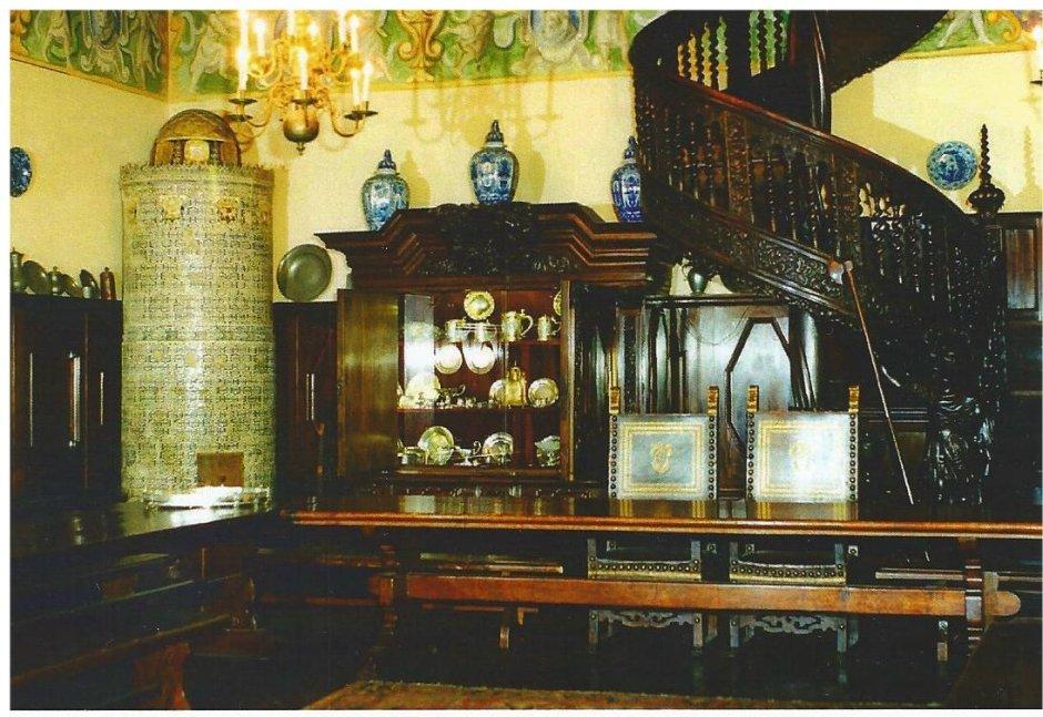 Professor's room in Collegium Maius