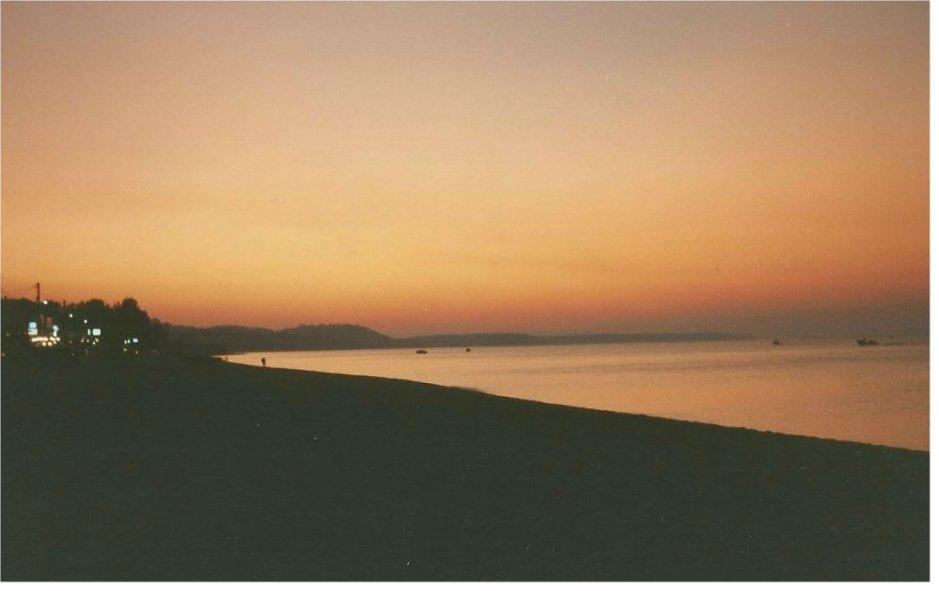 Sunset, Halkidiki