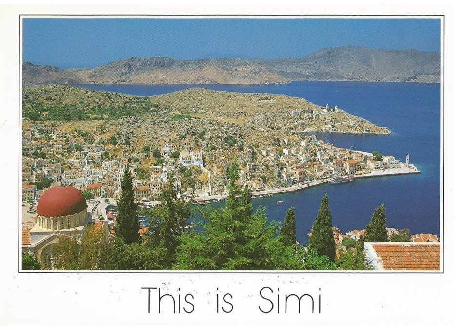 The beautiful island of Symi, near Rhodes