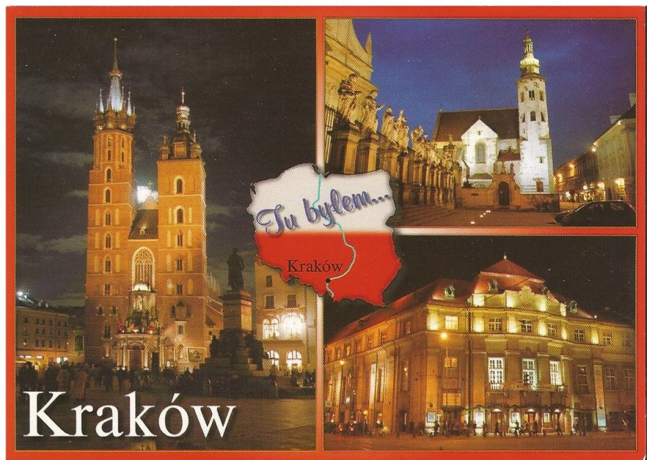 Here was Krakow!